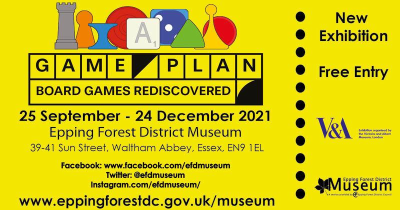 Game Plan exhibition - 25 September to 24 December