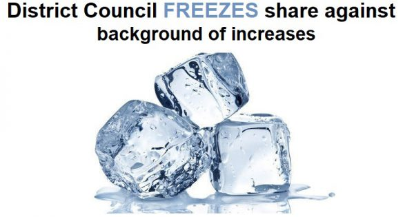 District Council freezes share of Council Tax