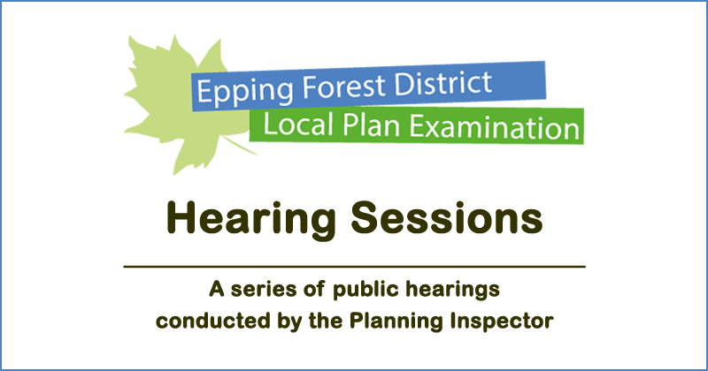 Local Plan Hearing Sessions