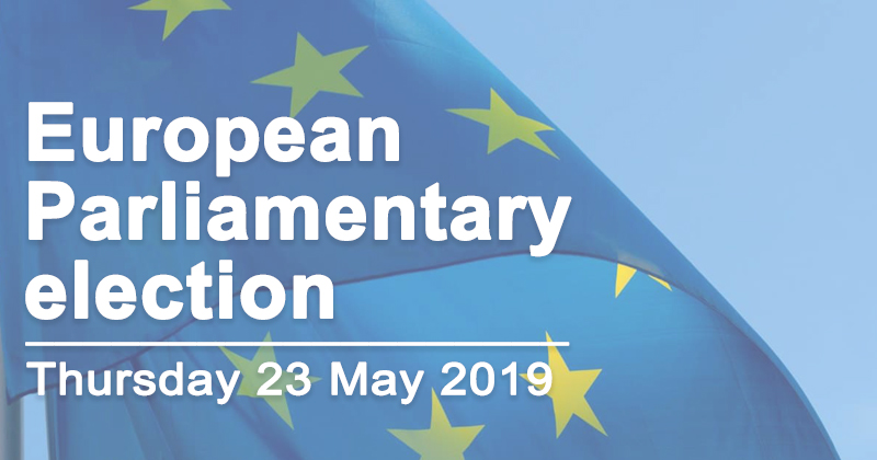 European Parliamentary election 23 May