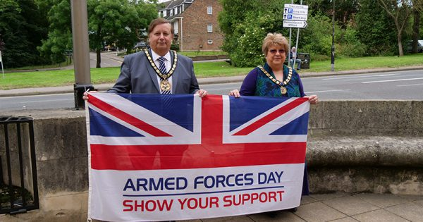 Armed Forces Day flag