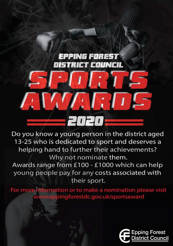 Sports Award 2010 poster