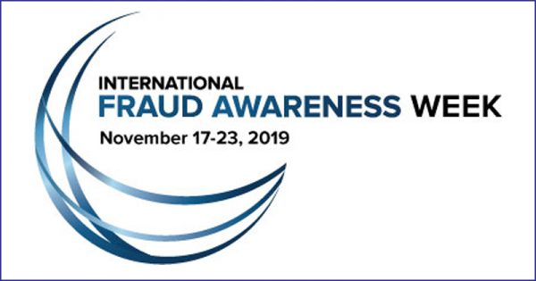 International Fraud Awareness Week logo
