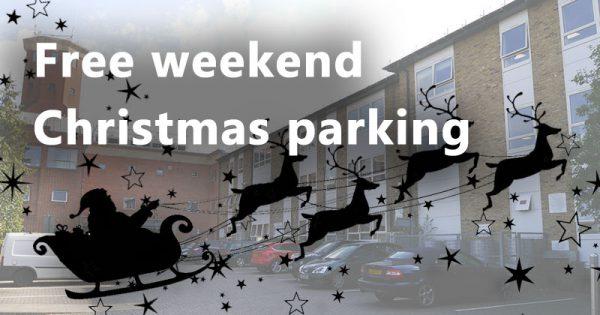 Free Christmas parking