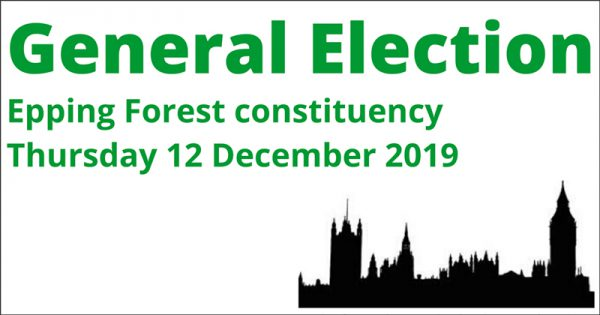 General Election - Epping Forest consituency - Thursday 12 December 2019