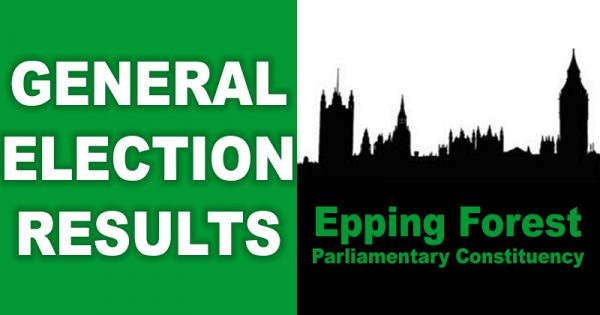 General Election results in the Epping Forest constituency