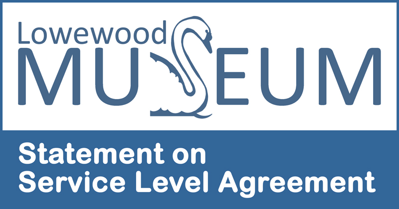 Lowewood Museum statement on service level agreement