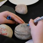 Painting a stone