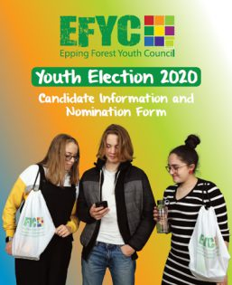 Youth election 2020 candidate information and nomination form