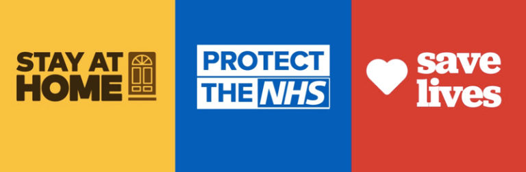 Stay at home - Protect the NHS - Save Lives