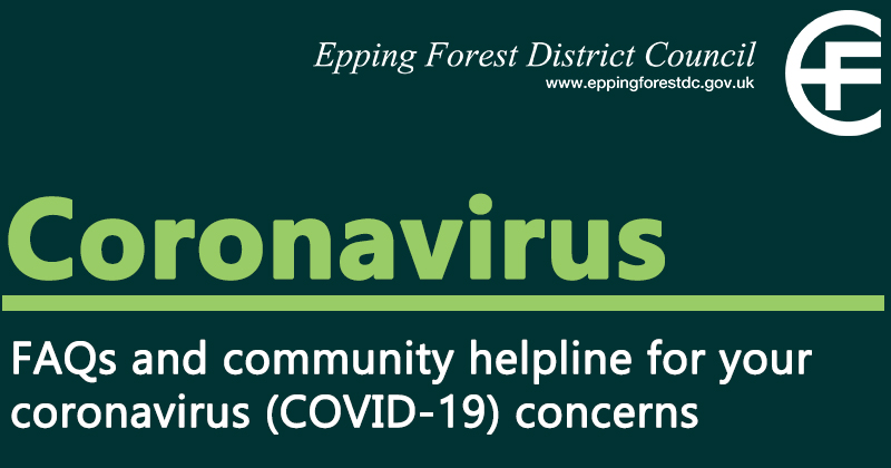 Frequently Asked Questions (FAQs) and community helpline for your coronavirus (COVID-19) concerns
