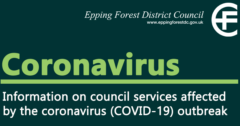 Information on council services affected by the coronavirus (COVID-19) outbreak