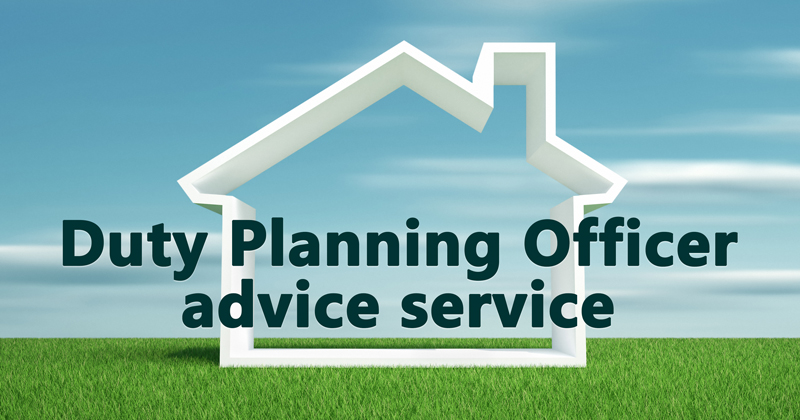 Duty planning officer advice service