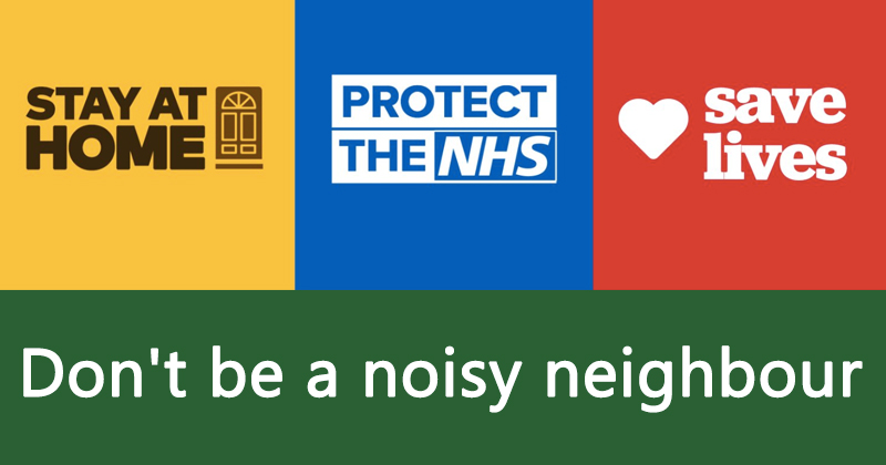 Don't be a noisy neighbour