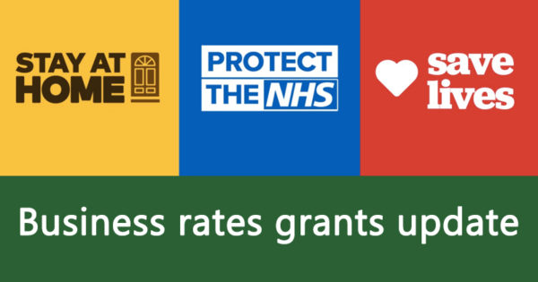 Business rates grants update