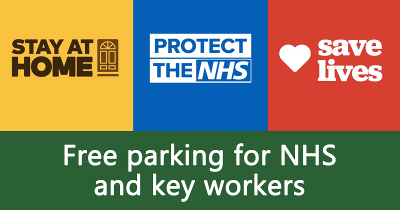 Free parking for NHS and key workers