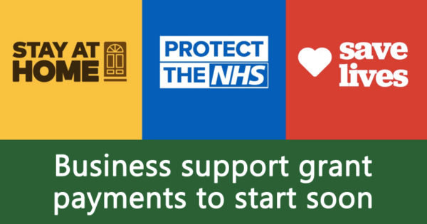 Business support grant payments to start soon