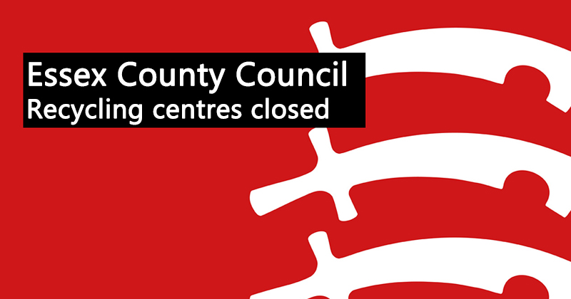 Recycling centres closed