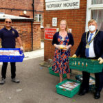Chairman delivers meals to Norway House