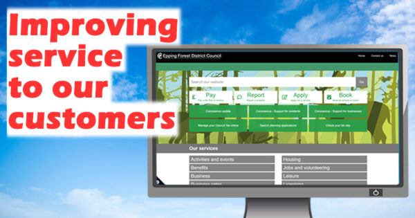 Improving service to our customers