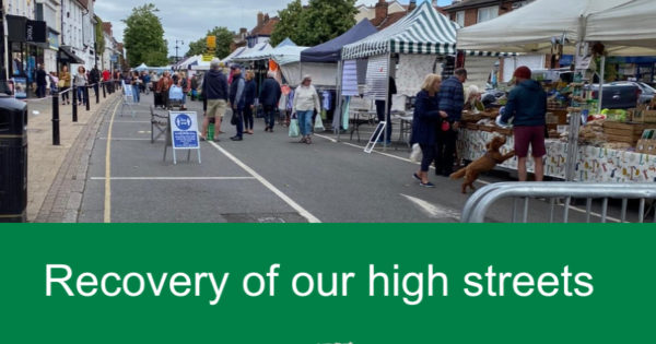 Recovery of our high streets - Epping high street