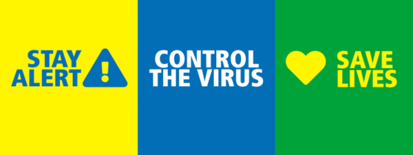 Stay alert. Control the virus. Save lives. - cover photo