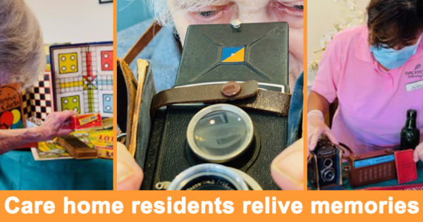 Care home residents relive memories
