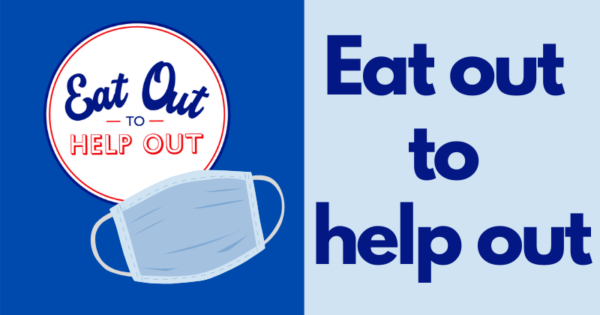Eat out to Help out and face mask