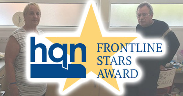 Ronnie and Charles shortlisted for HQN Frontline Stars Award