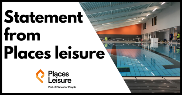 Statement from places leisure