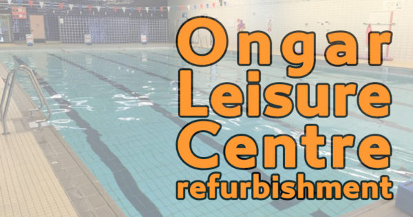 Ongar Leisure Centre refurbishment