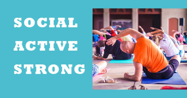 Social. Active/ Strong image