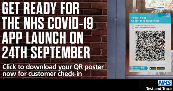 Get ready for the NHS COVID-19 app launch on 24 September
