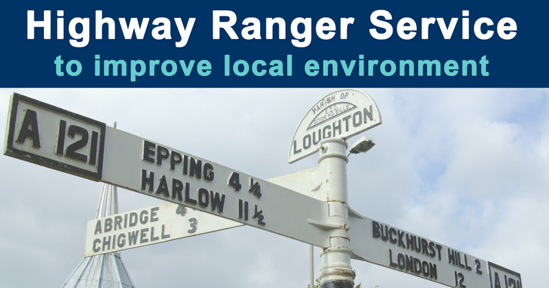 Highway Ranger Service to improve local environment