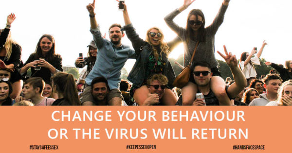 Change your behaviour or the virus will return