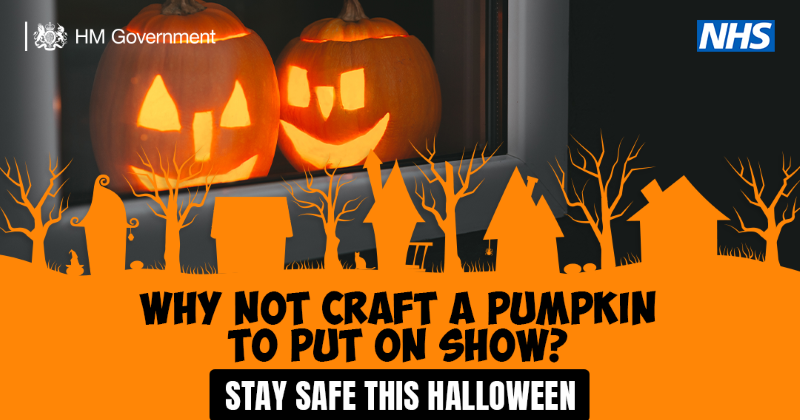 Why not craft a pumpkin to put on a show
