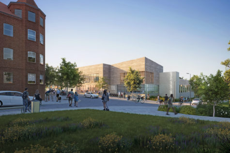 A CGI artist impression of the proposed leisure centre in Epping. Copyright Qualis Commercial