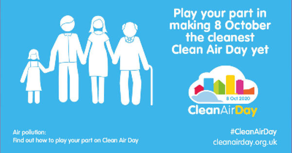 Play your part in making 8 October the cleanest air day yet