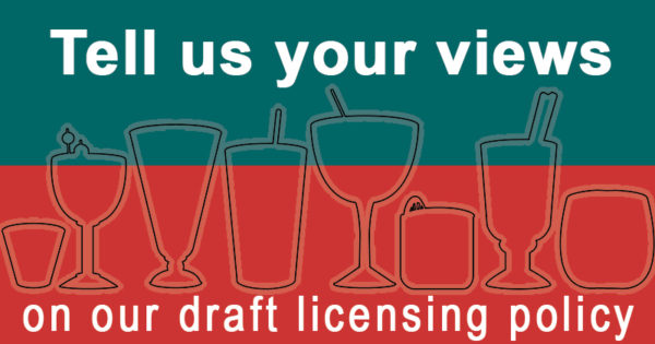 Tell us your views on our draft licensing policy