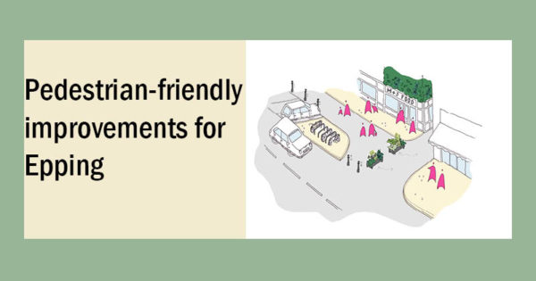 Pedestrian-friendly improvements for Epping