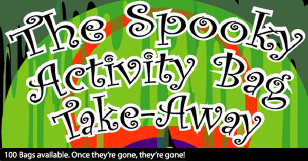 The spooky activity bag takeaway