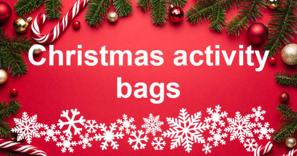 Christmas activity bags