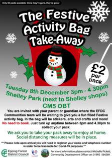 Shelley Christmas bags