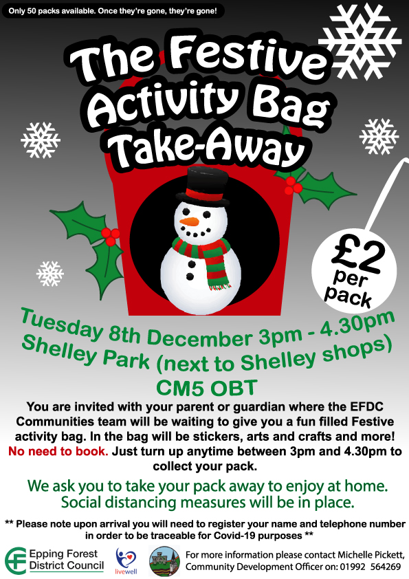 Shelley Christmas bags