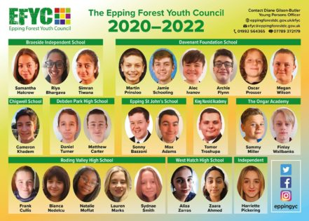 Youth Councilors 2020 - 2022