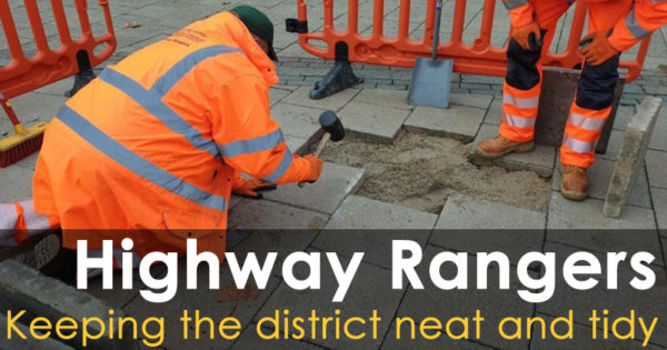 Highway Rangers - Keeping the district neat and tidy