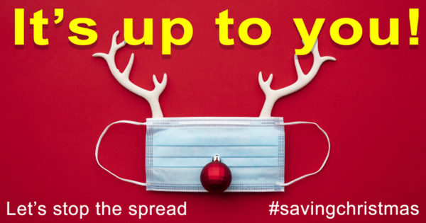 It's up to you! Let's stop the spread