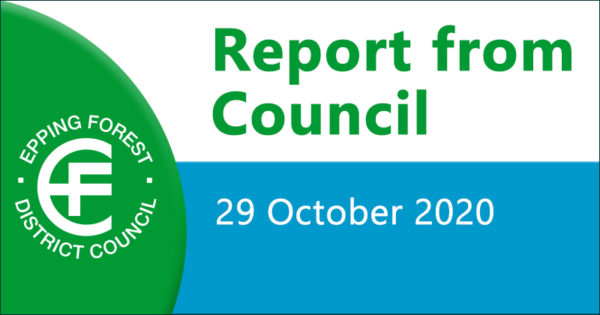 Report from council 29 October