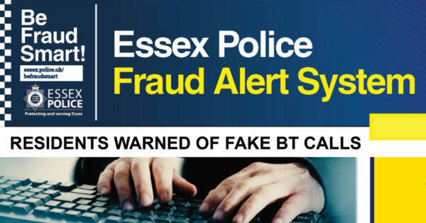 Residents warned of fake BT calls