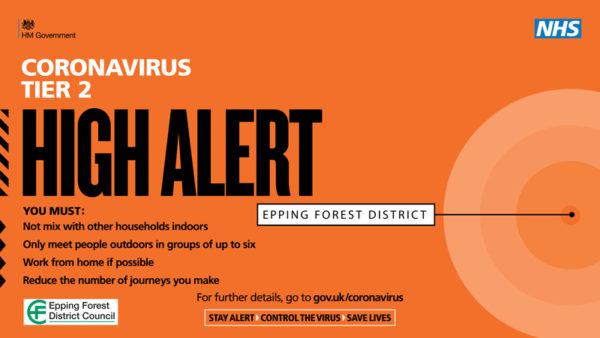 Coronavirus Tier 2 High Alert